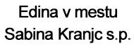 Edina v mestu Sabina Kranjc s.p.