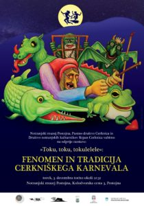 76945683 1275550422636532 6471559144250802176 o 1 210x300 - Toku, toku, tokulelele - Fenomen in tradicija Cerkniškega karnevala