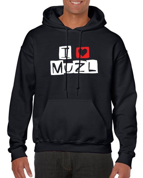 pulover IloveMuzl b - I love Muzl
