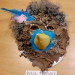 Pustna maska Ronja 150x150 - Pustno vzdušje med šolanjem od doma